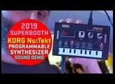 Korg Nu:Tekt - Sound Demo (no talking) #superbooth2019