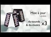 Mise à jour du-touch S - 3x plus de sons et morceaux !
