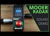Mooer Radar Sound Demo (no talking)