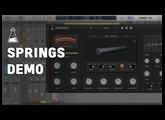 Springs Demo - Spring Reverb Plugin (VST, AU, AAX)