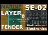Pedals4Synths - Fender Marine Layer Reverb W/ Roland+Studio Electronics SE-02