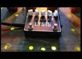 SolidGoldFX - Lysis - Polyphonic Octave Down Fuzz Modulator - Bass Demo