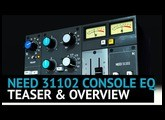 Need 31102 Console Eq Plugin - Teaser & Overview