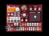 DJ Galactic - Zith with Korg iElectribe on iPad (Electronic Music)