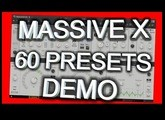 MASSIVE X - 60 presets Demo - Native Instruments