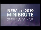 ULTIMATE PATCHES for ARTURIA MINIBRUTE: VOLUMES 1+2 (2019)