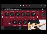 Blackhole Reverb, MicroPitch & UltraTap Delay for iPhone & iPad - Guitar presets by Vanny Tonon