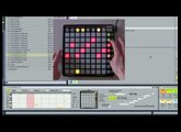 Novation // Launchpad: Max For Live Melodic Step Sequencer