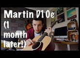 Martin D10e (After 1 month) - Vlog #4