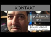 Kontakt Tutorial: Import Sample Hack