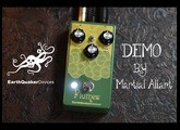 Earthquaker Devices Plumes overdrive demo by Martial Allart