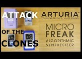 Pedals4Synths - Attack of the Electro Harmonix Clones W/Arturia's Microfreak on pad sound