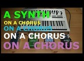 Pedals4Synths - What If #1 - A Synth on a chorus on a chorus on a chorus on a chorus