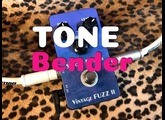 Doc Music Station VINTAGE FUZZ II Silicon Bender TONEBENDER fuzz pedal