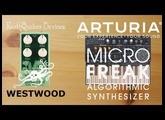 Pedals4Synths - EQD Westwood Translucent Drive Manipulator W/ Arturia MicroFreak