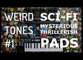Weird Tones #1 : How to create mysterious/thrillerish/Sci-fi  pads W/a few pedals and a Roland SE-02