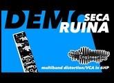 Demo: Seca Ruina multiband distortion/VCA for modular synth