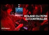 Roland DJ-707M DJ Controller for Mobile DJs