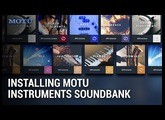 How to install the MOTU Instruments soundbank