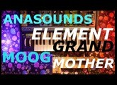 Pedals4Synths - 15 minutes with the Anasounds Element and Moog Grandmother