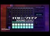 Roland MC-707 GROOVEBOX: Sound