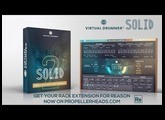 Now available as Rack Extension: Virtual Drummer SOLID 2