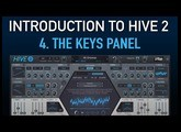 Introduction to Hive 2 - 4. The Keys panel