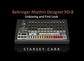 Behringer RD-8 Unboxing and First Look: build quality, sounds and programming a quick beat