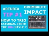 [HOW TO] Use the DrumBrute Impact to trig an external synth the 80 style (french w/uk subtitles) !