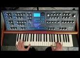 Sintetizador analogico polifonico Zeus (Demo)