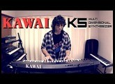 KAWAI K5 Synthesizer 1987 - Sounds Presets Demo  (NO TALKING, ONLY PLAYING) 80s Vintage synthesizer