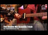 The Double Mic Tom Petty Acoustic Trick From Jim Scott - Roswell Delphos, Miktek C5, Tegeler Crème