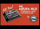 Altura MkII Theremin MIDI Controller / Arpeggiator / Step Sequencer