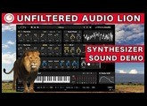 Unfiltered Audio LION Patchable Synthesizer Sound Demo | SYNTH ANATOMY