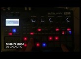 DJ Galactic - Moon Dust with  Korg Electribe Sampler 2 / ESX2