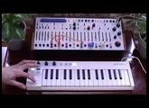 Buchla EASEL COMMAND - MIDI controlled via Arturia Keystep