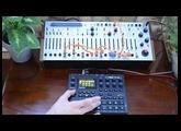 Buchla EASEL COMMAND - MIDI controlled via Elektron Digitakt