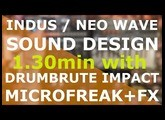 p4s   INDUS NEO WAVE  sound design with MicroFreak, DrumBrute Impact, Context, Fathom and Oceans11