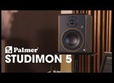 "Palmer STUDIMON 5 - Powered 5"" Reference Nearfield Studio Monitor"