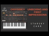 Behringer Odyssey: Unboxing and first impressions