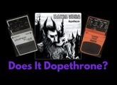 Boss FZ-2 Hyperfuzz vs Behringer SF300 Superfuzz - Electric Wizard Tone!