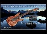 Harley Benton Fusion II HSH Présentation et Test avec le HX Stomp (English subtitles)