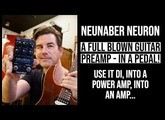 A FULL BLOWN GUITAR PREAMP in a PEDAL! Neunaber Neuron