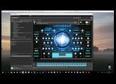 Universe for Kontakt 6 Snapshot Walkthrough