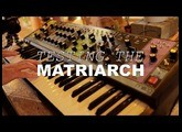MOOG MATRIARCH - my first hands on experience