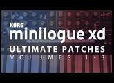 KORG MINILOGUE X D ULTIMATE PATCHES VOL. 1-3 (2019)