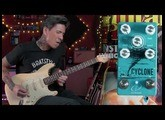 Crazy Tube Circuits Cyclone phaser pedal - demo by RJ Ronquillo