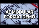 AE Modular Synth Format Introduction ... finally, a CHEAP modular! #TTNM