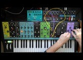 Very Moog jam with Matriarch and Subsequent 37, Eventide Space and Timefactor, Strymon Big Sky