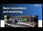 M series: basic connections and monitoring